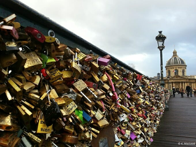 Love Locks, Pont des Arts, Paris