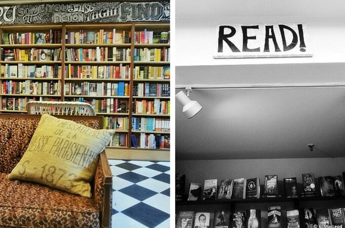 Subtext Books at Nina's Coffee Cafe