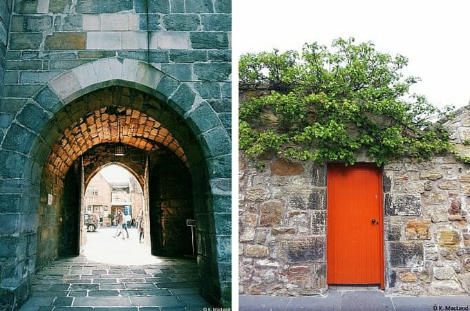 St Andrews' archways and doors