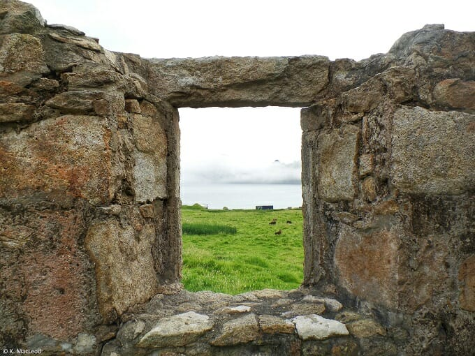 Through the window, St Kilda