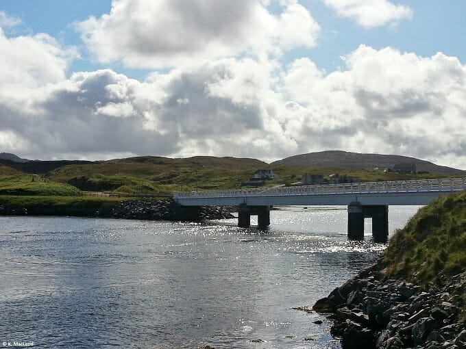 Bridge over the Atlantic to Great Bernera