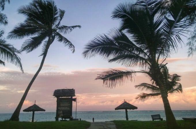 Sunset at Diani Sea Resort, Kenya