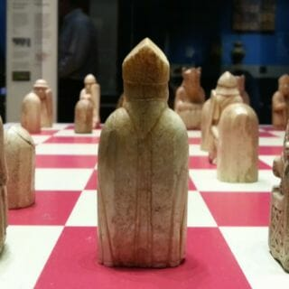 On the Trail of the Chessmen, from Lewis to London