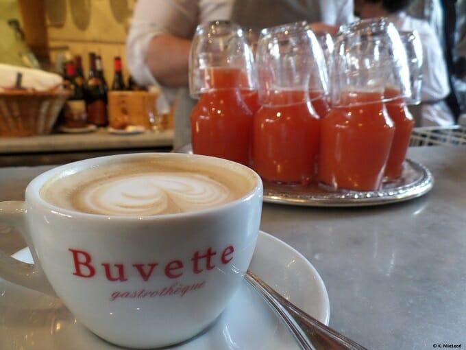 Buvette brunch in NYC