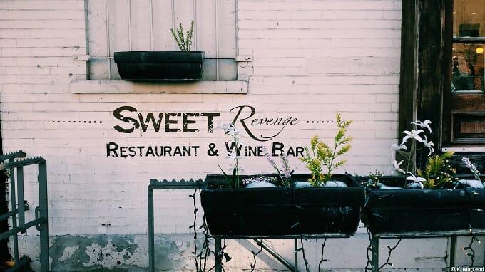 Sweet Revenge, West Village, NYC