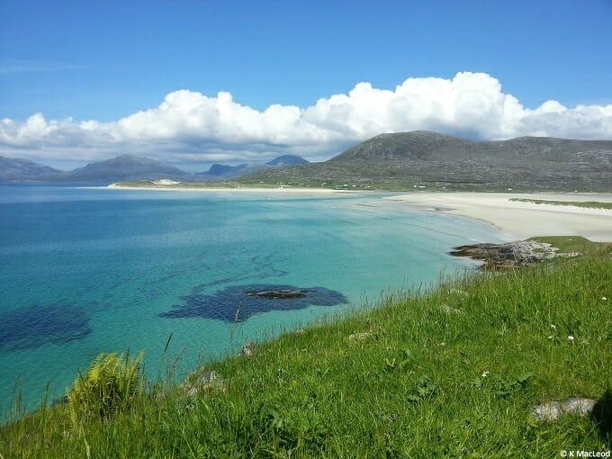 Seilebost beach Isle of Harris