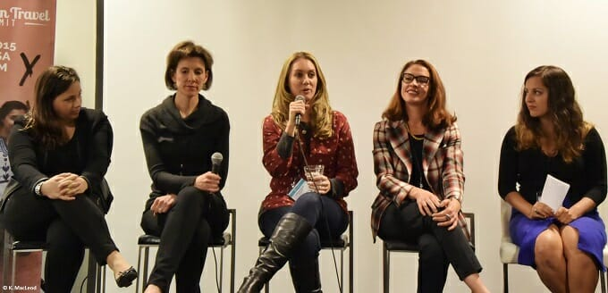 Press Trip Panel at the Women in Travel Summit