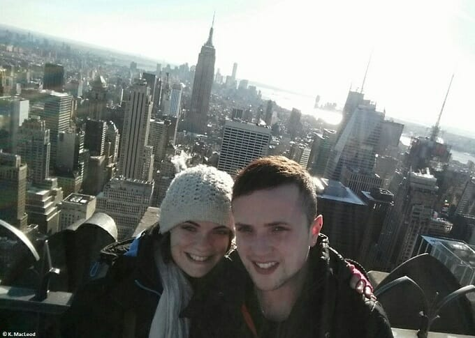 Selfie at the Top of the Rock, NYC