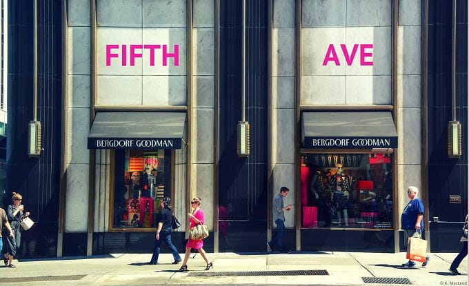 Where to shop in New York City - 5th Avenue