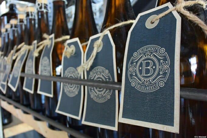 Bottles at Bluejacket, Navy Yards