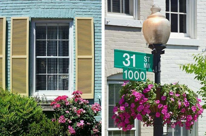 Colour in Georgetown, Washington DC