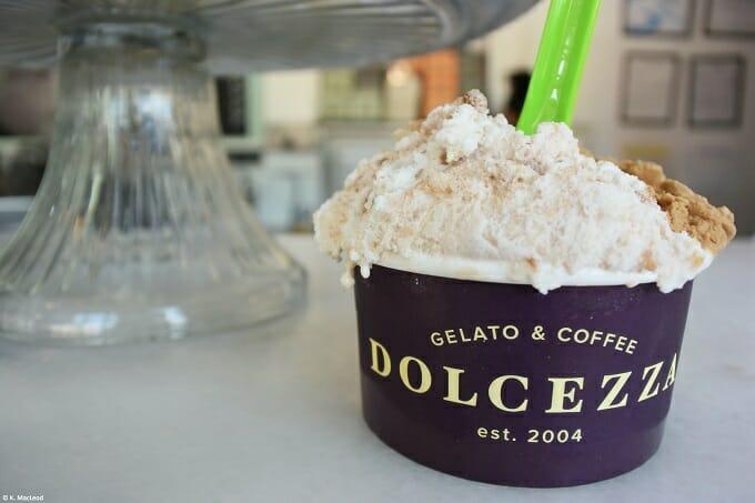 Gelato at Dolcezza, Georgetown