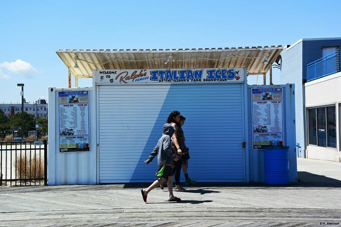 Ralph's Italian Ices, Asbury Park Boardwalk
