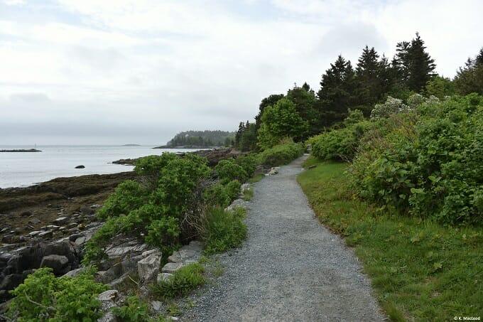 Bar Harbour coastal path