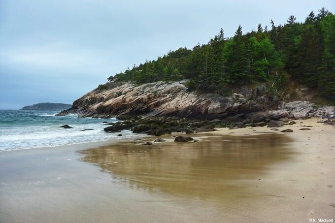 Sandy Beach Acadia National Park