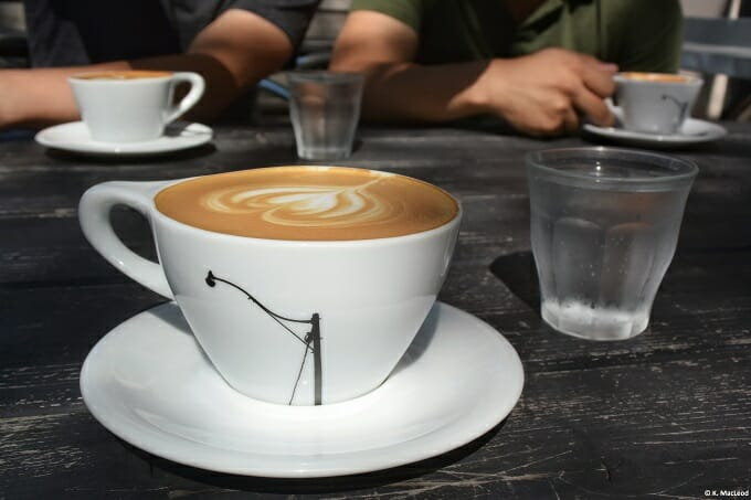 Latte at Caffe Streets