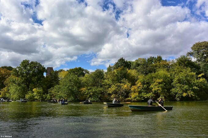 Boats-on-the-Lake-in-Central-Park