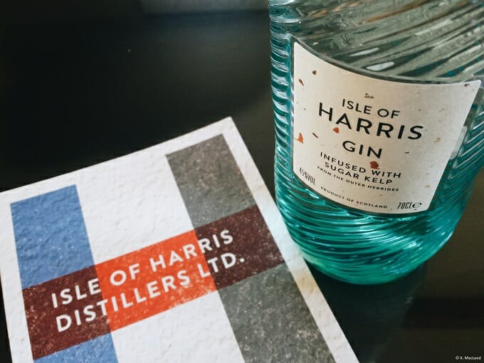 Isle of Harris Gin and Distillery Leaflet