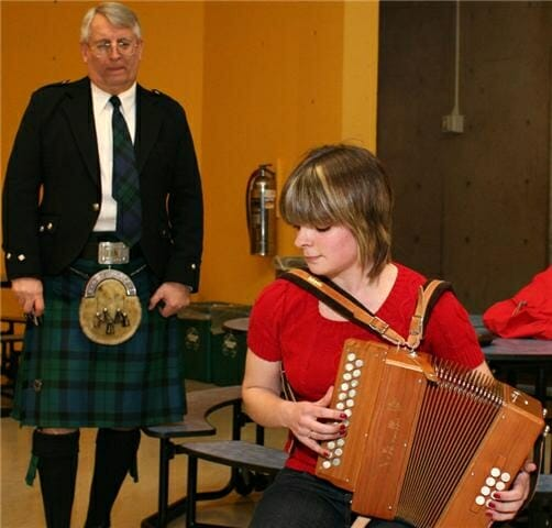 Playing Gaelic tunes on the melodeon in Philadelphia