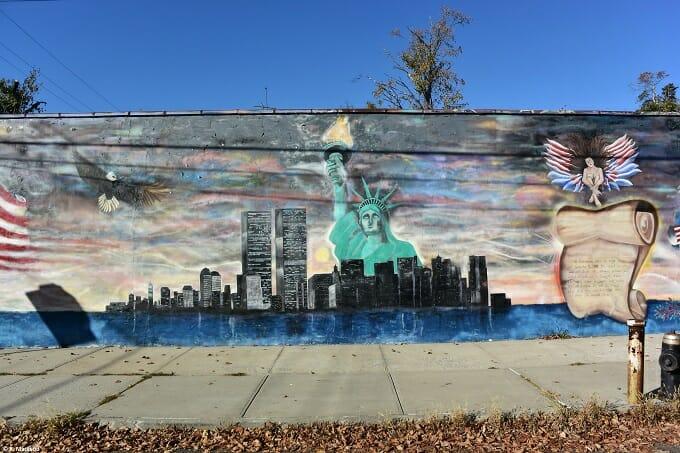 Mural on City Island