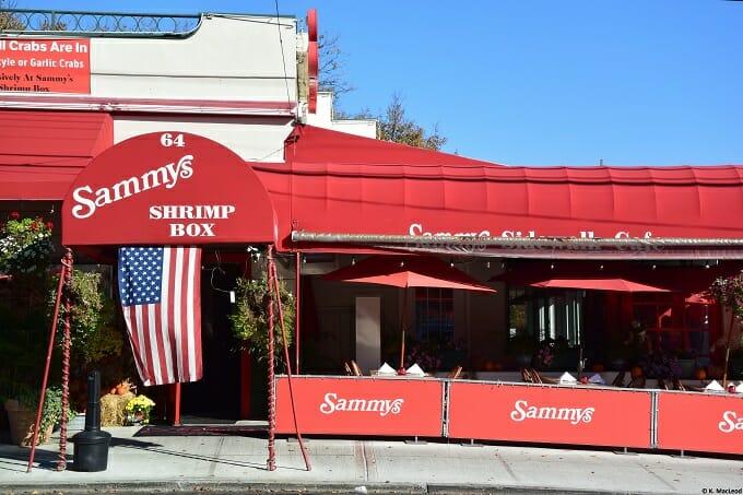 Sammy's Shrimp Box, City Island