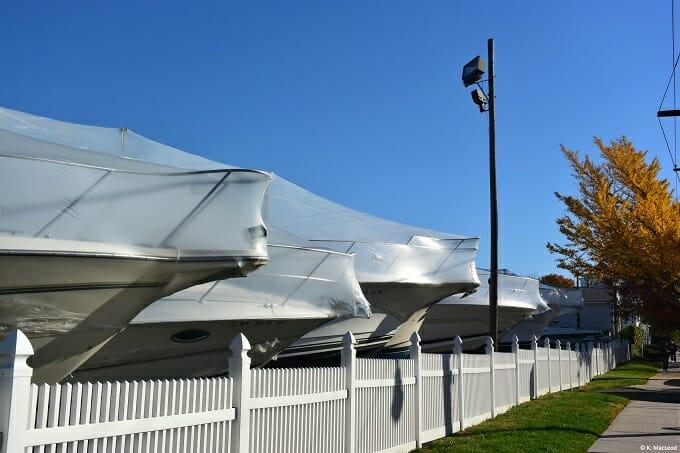 Yacht club, City Island