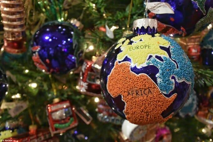 Globe Christmas Tree Ornament