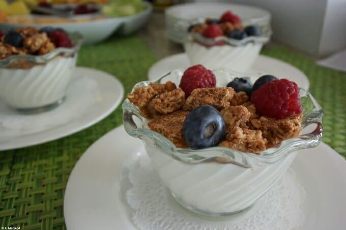Peter Shields Inn Breakfast