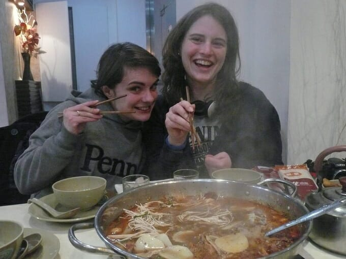 Hot pot in Suzhou