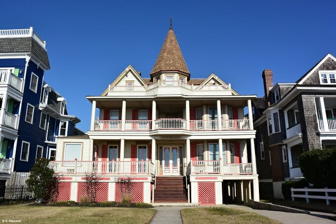 Pink house Cape May