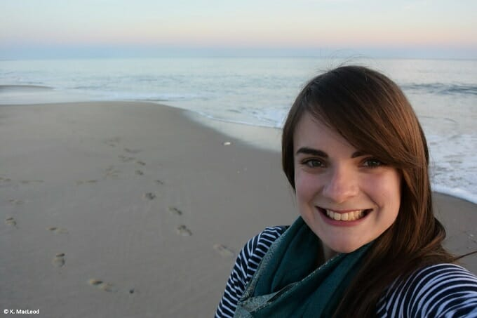 Selfie at the beach, Cape May