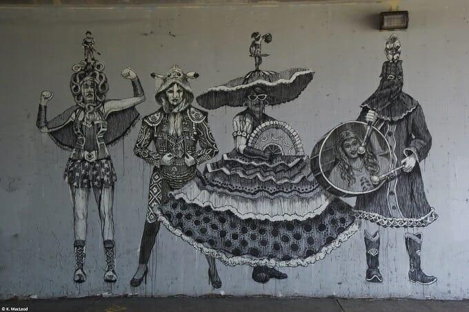Santurce underpass street art