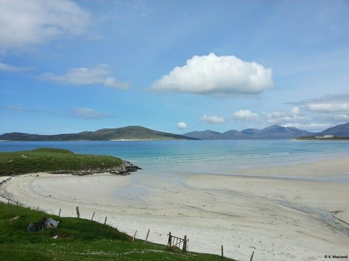 Seilbost beach - visiting the Outer Hebrides