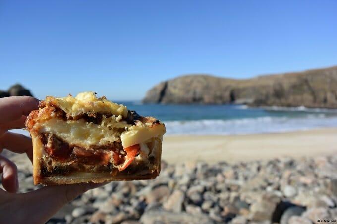 40 North picnic at Dal Beg beach