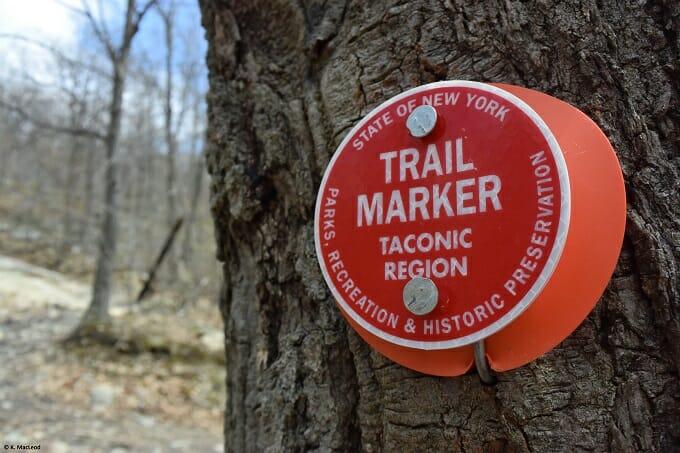 Beacon trail marker