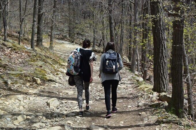 Hiking Mt Beacon