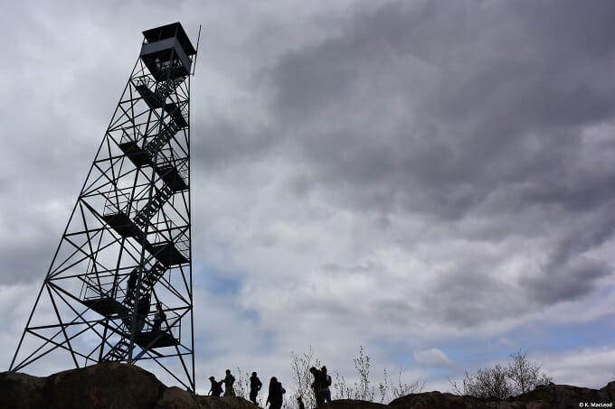 Mt Beacon fire tower