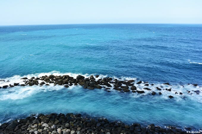 Ocean view from El Morro