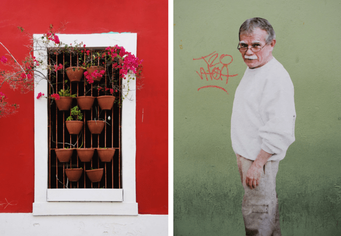 Old San Juan street art