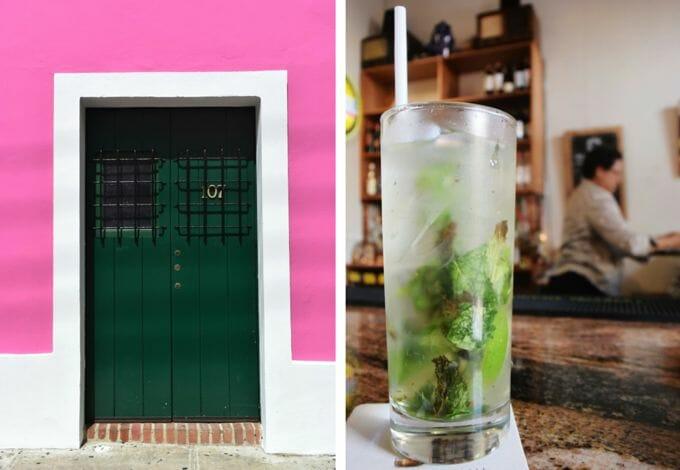 Pink doorway Old San Juan