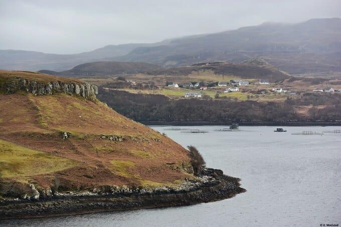 View of Portnalong, Isle of Skye