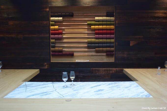 Isle of Harris Distillery tasting room