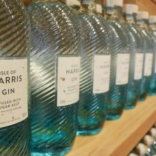 Harris gin bottles