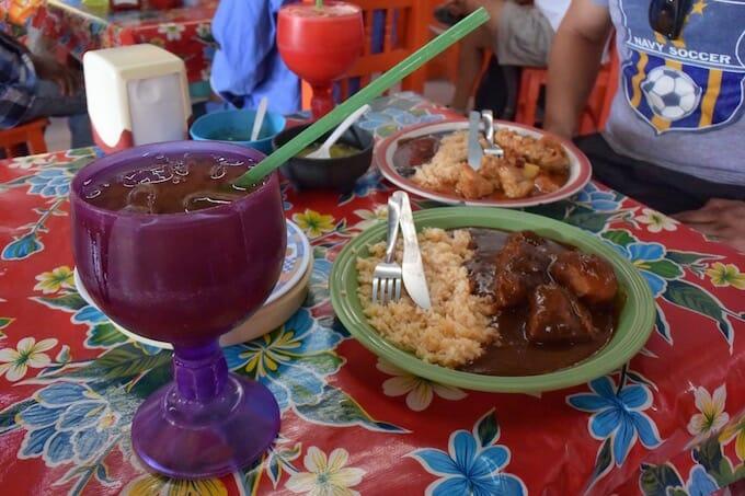 Lunch in Tulum