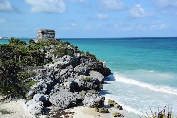 Tulum ruins on Riviera Maya