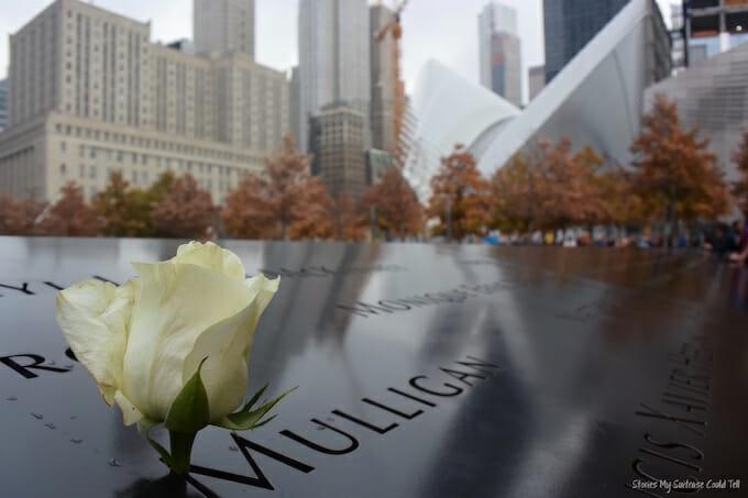 September 11th Memorial Flower