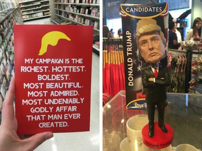 Donald Trump merchandise