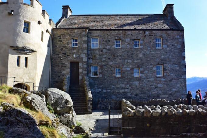Inside Eilean Donan Castle