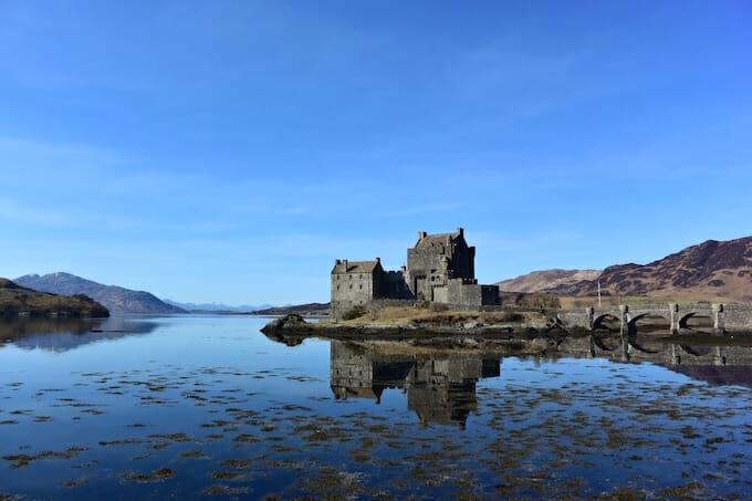 Reflections at Eilean Donan Castle