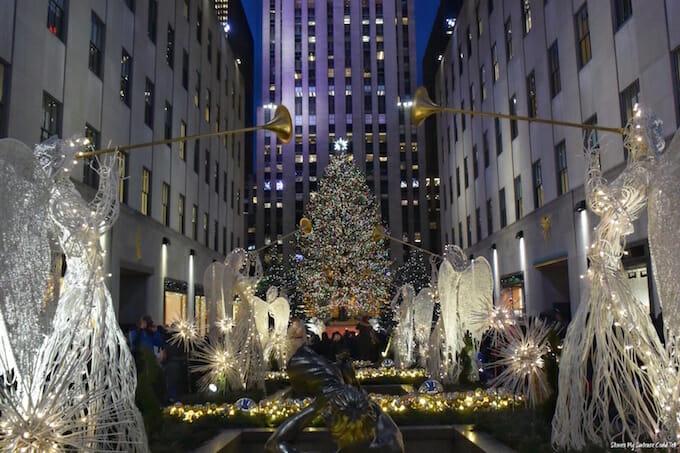 Rockefeller Plaza Christmas Tree